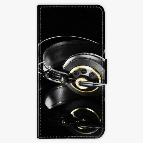 Flipové pouzdro iSaprio - Headphones 02 - Nokia 5