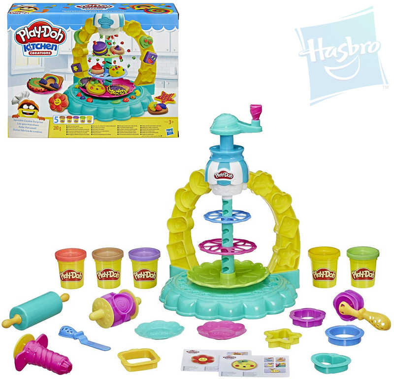 HASBRO Play-Doh Cukrárna kreativní set modelína 280g s nástroji