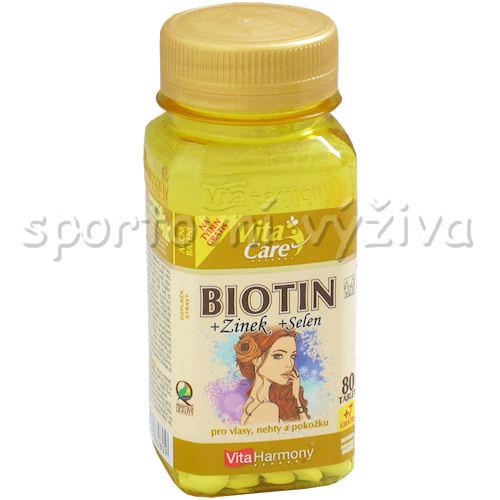 Biotin 300 mcg + Selen + Zinek 87 tablet
