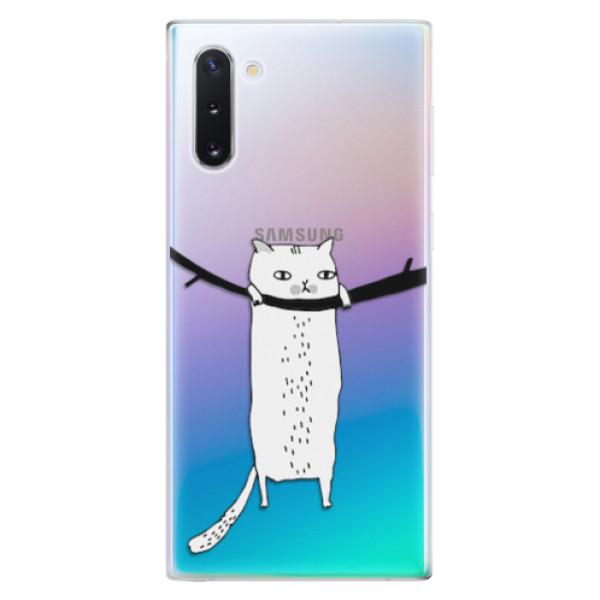 Odolné silikonové pouzdro iSaprio - Hang in there - Samsung Galaxy Note 10