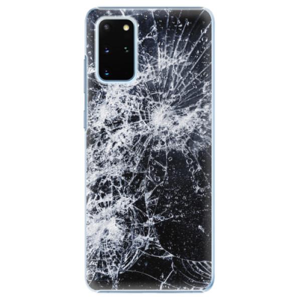 Plastové pouzdro iSaprio - Cracked - Samsung Galaxy S20+