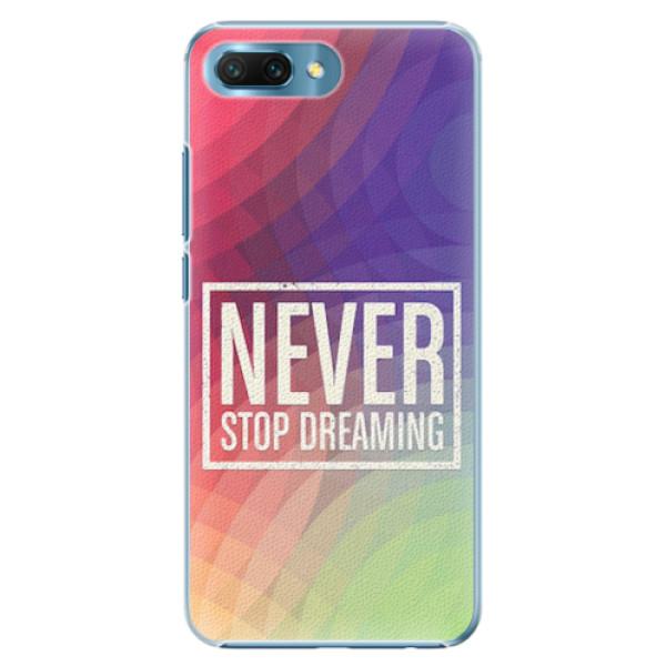 Plastové pouzdro iSaprio - Dreaming - Huawei Honor 10