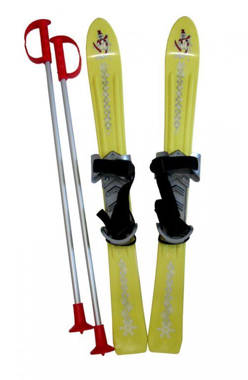 Plastkon Lyže dětské 70cm - žluté