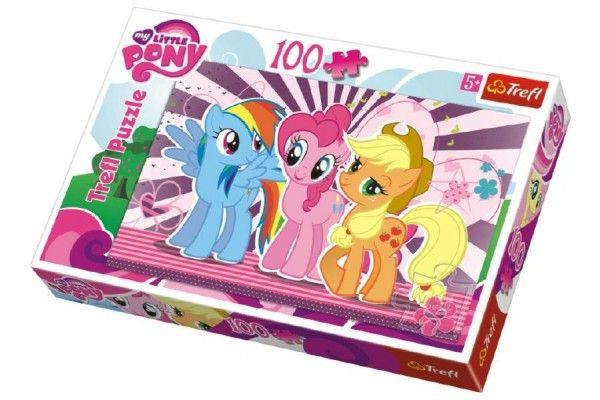 Puzzle My Little Pony 100 dílků 41x27,5cm v krabici 29x20x4cm