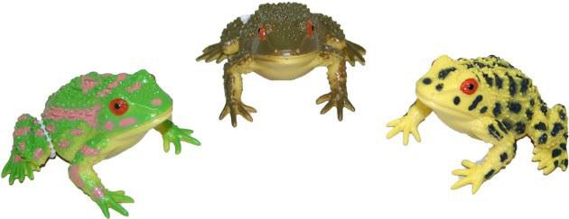 Žába 8cm - se zvukem