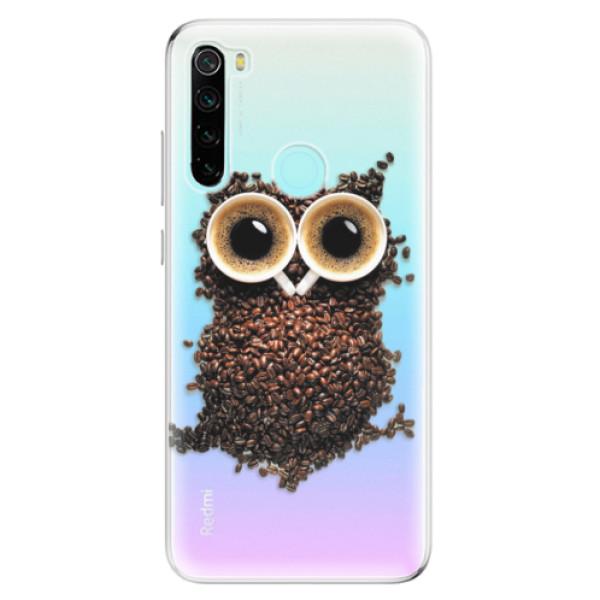 Odolné silikonové pouzdro iSaprio - Owl And Coffee - Xiaomi Redmi Note 8