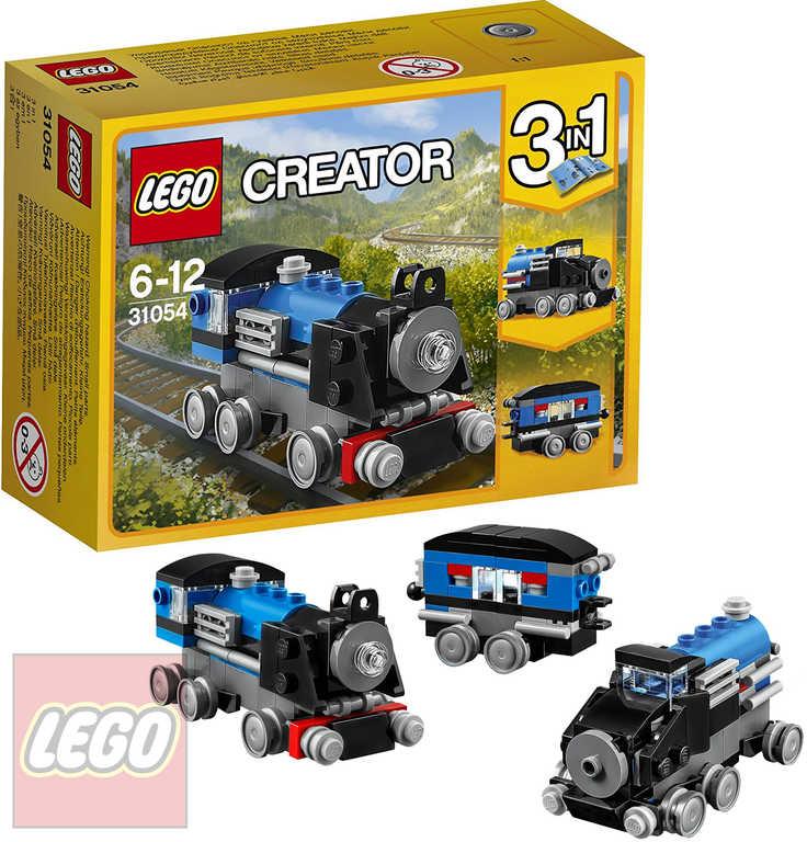 LEGO CREATOR Modrý expres 3v1 31054 STAVEBNICE