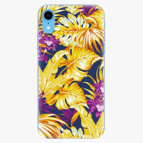 Silikonové pouzdro iSaprio - Tropical Orange 04 - iPhone XR