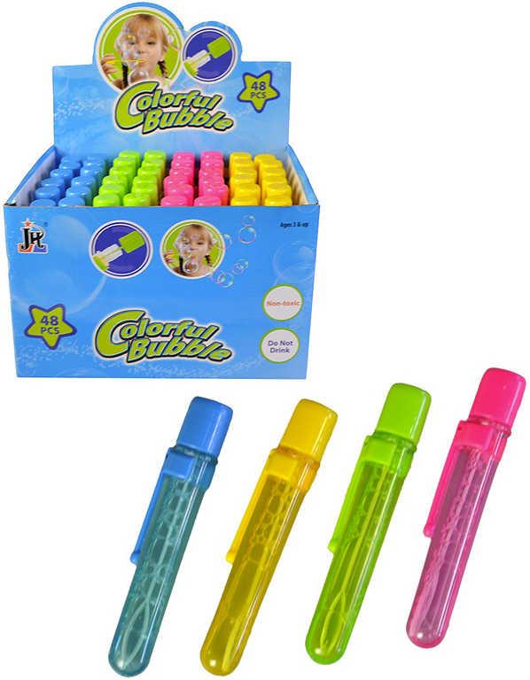 Bublifuk propiska dětský bublifukovač - 4 barvy