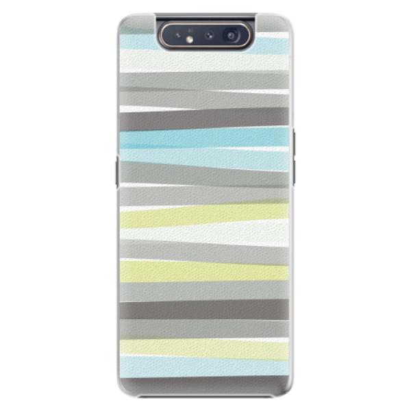 Plastové pouzdro iSaprio - Stripe - Samsung Galaxy A80