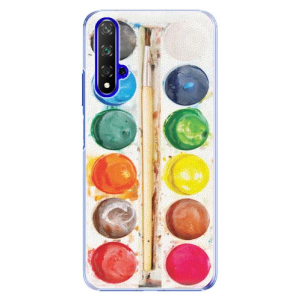 Plastové pouzdro iSaprio - Watercolors - Huawei Honor 20
