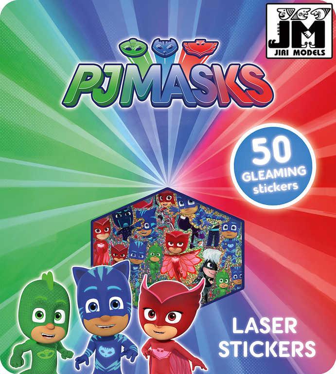 JIRI MODELS Samolepky super třpytivé PJ Masks