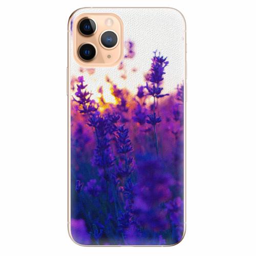 Silikonové pouzdro iSaprio - Lavender Field - iPhone 11 Pro