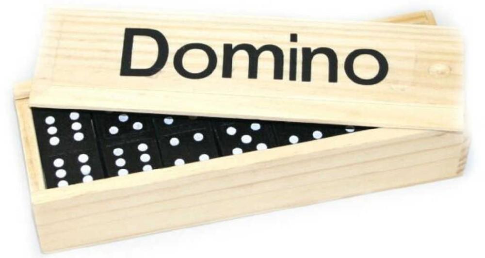 DŘEVO Hra Domino *DŘEVĚNÉ HRAČKY*