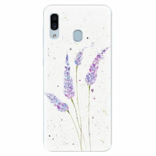 Silikonové pouzdro iSaprio - Lavender - Samsung Galaxy A30
