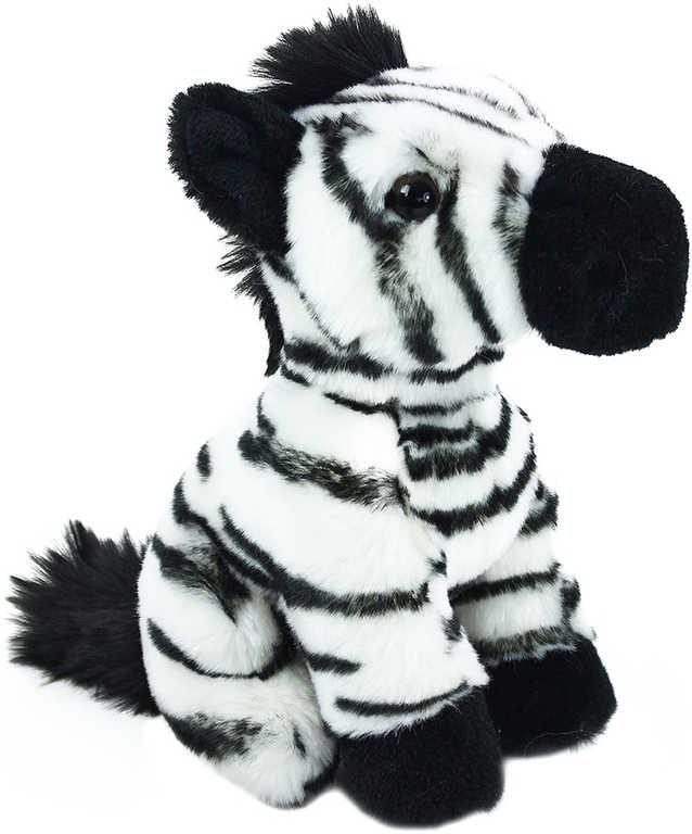 PLYŠ Zebra sedící 18 cm exkluzivní kolekce