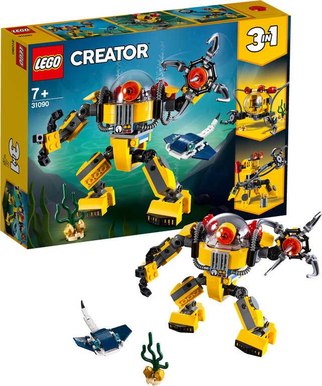 LEGO CREATOR Podvodní robot 3v1 31090