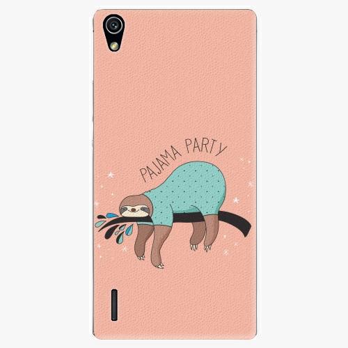 Plastový kryt iSaprio - Pajama Party - Huawei Ascend P7