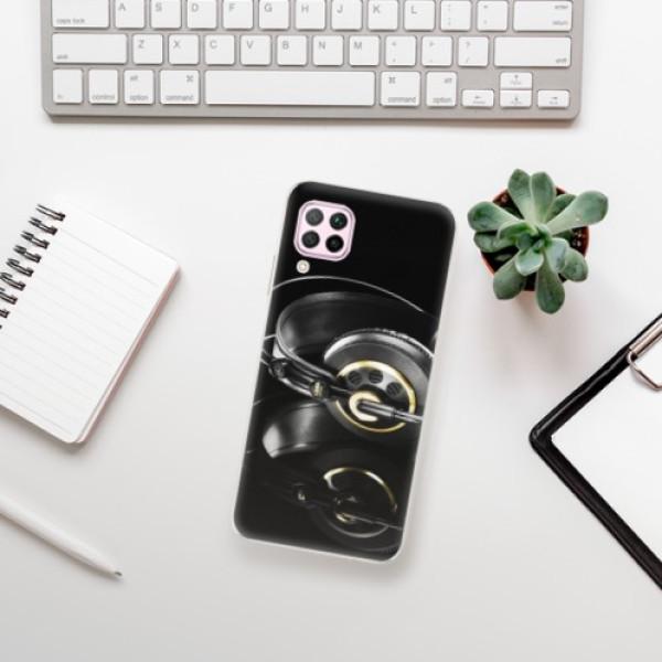 Odolné silikonové pouzdro iSaprio - Headphones 02 - Huawei P40 Lite