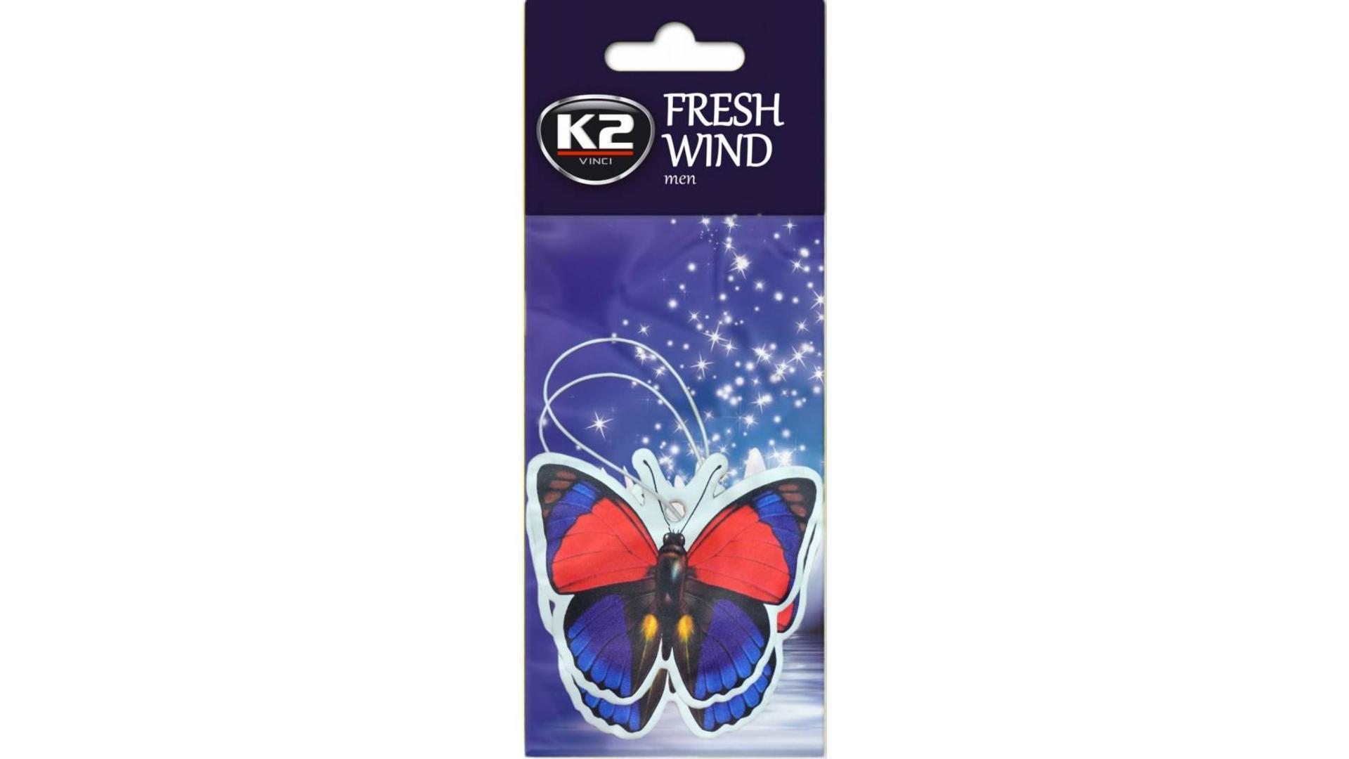 K2 FRESH WIND osvěžovač vzduchu - Muž