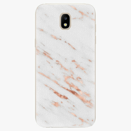 Plastový kryt iSaprio - Rose Gold Marble - Samsung Galaxy J5 2017