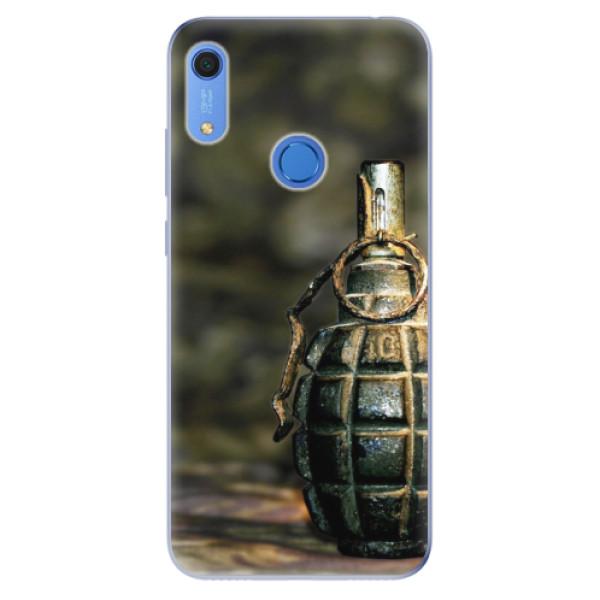 Odolné silikonové pouzdro iSaprio - Grenade - Huawei Y6s