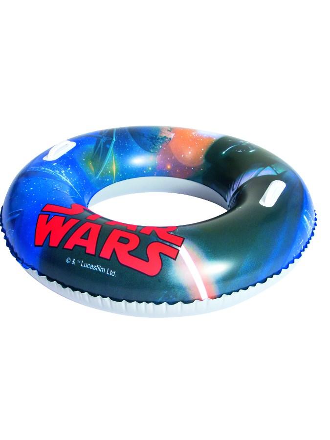 Dětský nafukovací velký kruh Bestway Star Wars - modrá