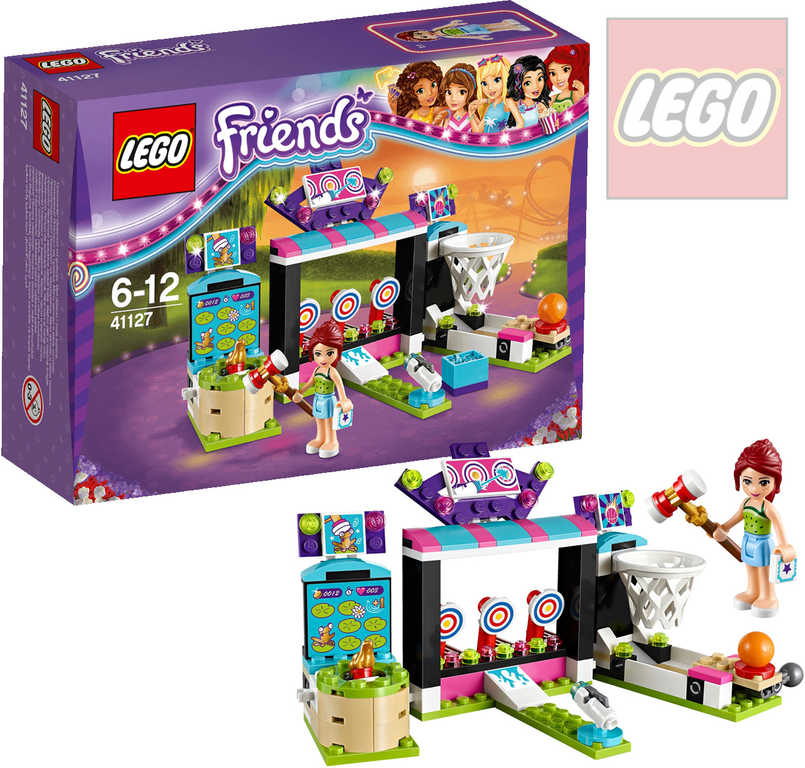 LEGO FRIENDS Střelnice v zábavním parku 41127 STAVEBNICE