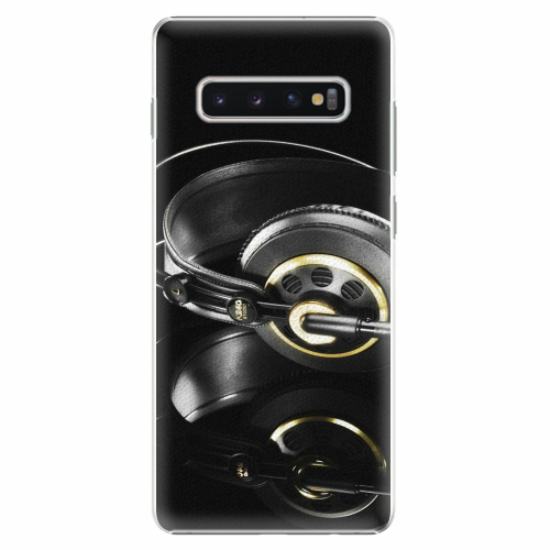 Plastový kryt iSaprio - Headphones 02 - Samsung Galaxy S10+