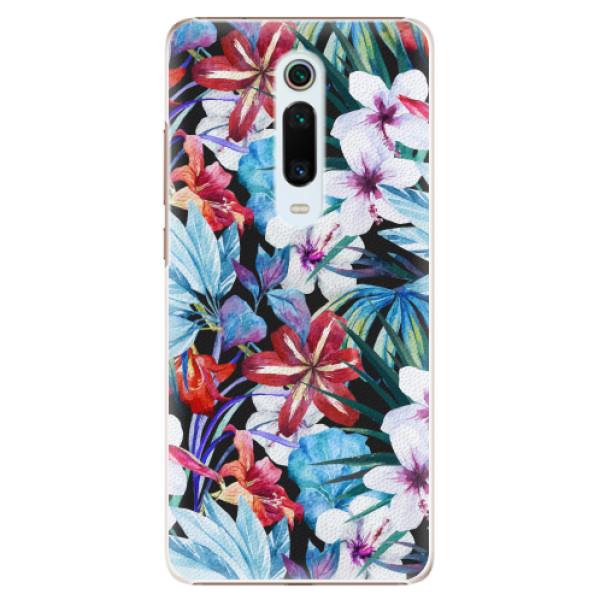 Plastové pouzdro iSaprio - Tropical Flowers 05 - Xiaomi Mi 9T Pro
