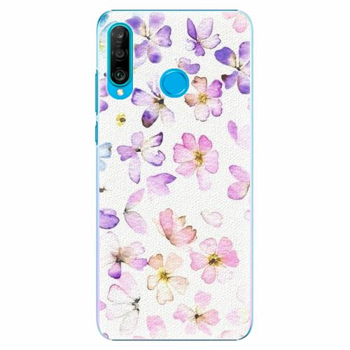 Plastový kryt iSaprio - Wildflowers - Huawei P30 Lite