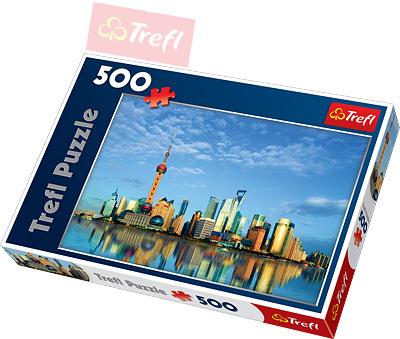 TREFL PUZZLE Šanghaj 500 dílků 48x34cm 137163
