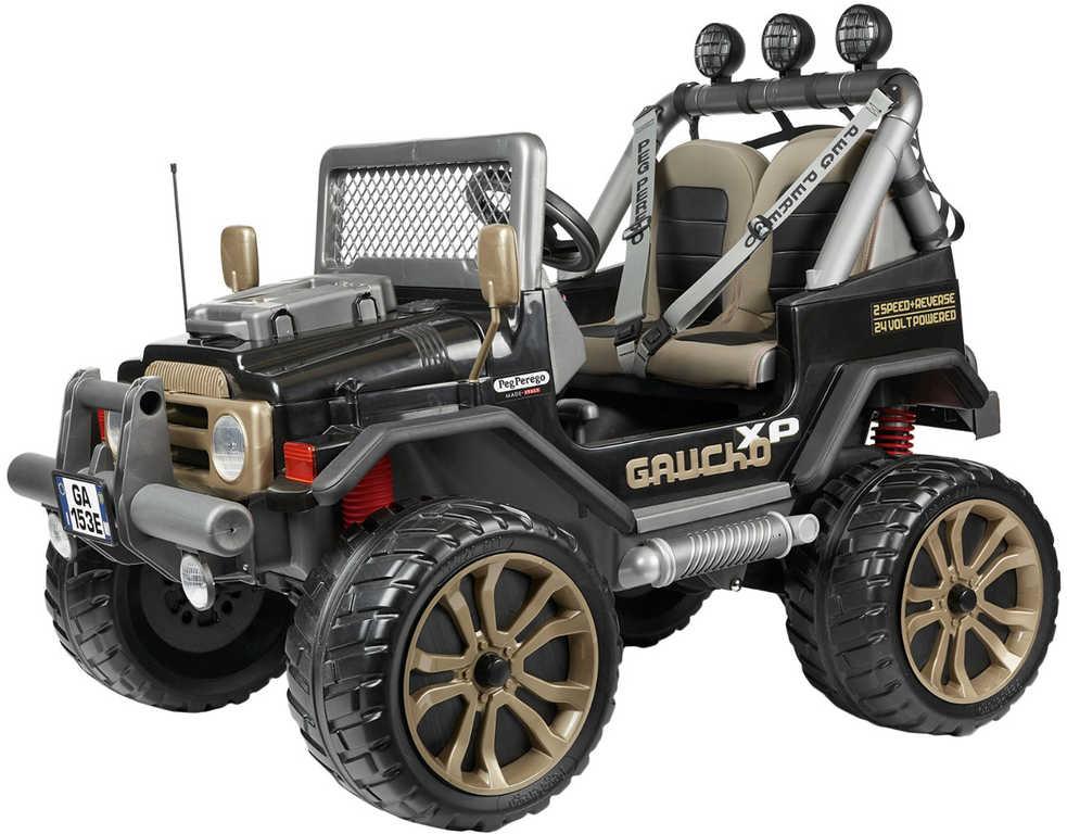 PEG PÉREGO GAUCHO XP 480W 24V 4x4 Elektrické vozítko