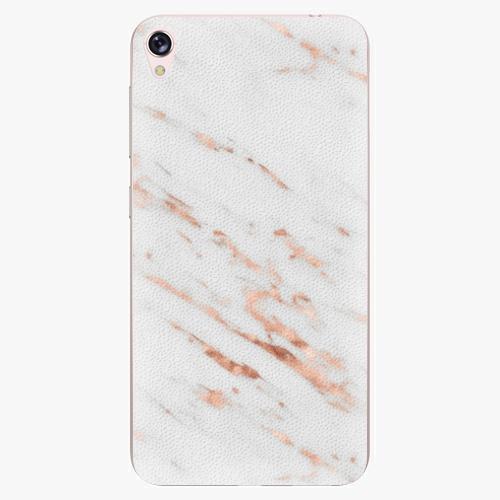 Plastový kryt iSaprio - Rose Gold Marble - Asus ZenFone Live ZB501KL