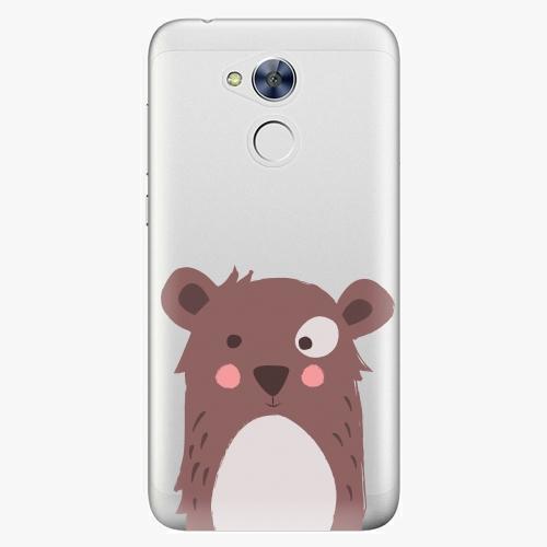 Plastový kryt iSaprio - Brown Bear - Huawei Honor 6A