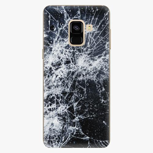 Plastový kryt iSaprio - Cracked - Samsung Galaxy A8 2018
