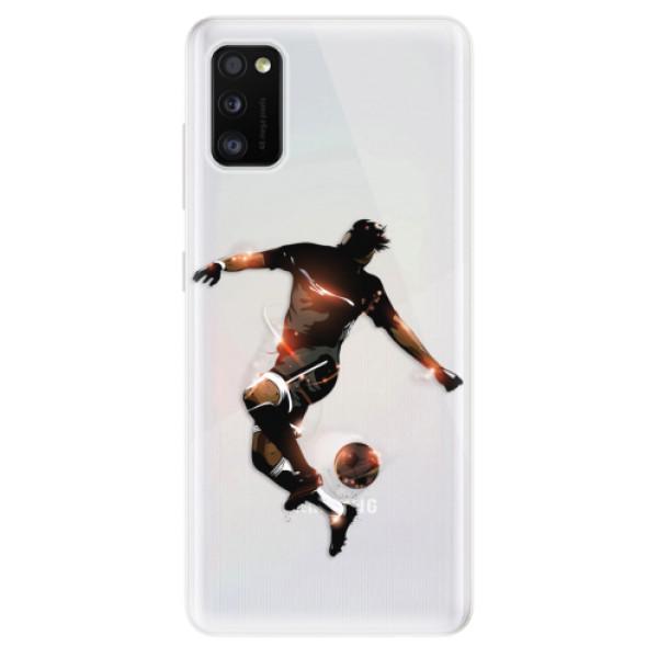 Odolné silikonové pouzdro iSaprio - Fotball 01 - Samsung Galaxy A41