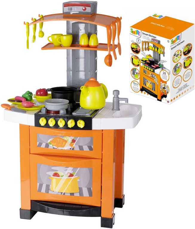 Smart kuchyňka elektonická inteligentní set s funkční pračkou a doplňky na baterie