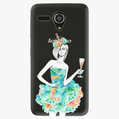 Plastový kryt iSaprio - Queen of Parties - Lenovo A606