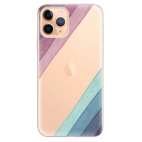 Silikonové pouzdro iSaprio - Glitter Stripes 01 - iPhone 11 Pro