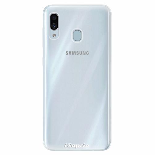 Silikonové pouzdro iSaprio - 4Pure - průhledný matný - Samsung Galaxy A30