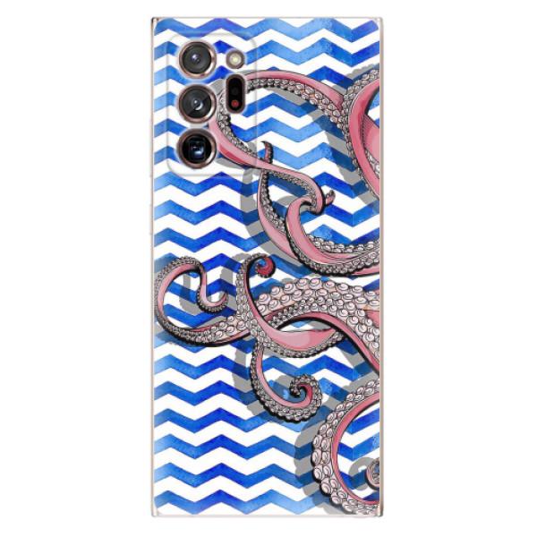 Odolné silikonové pouzdro iSaprio - Octopus - Samsung Galaxy Note 20 Ultra
