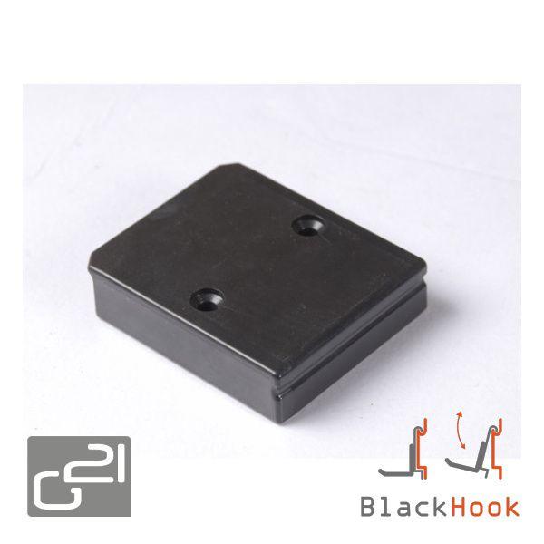 Závěsný systém G21 BlackHook spojnice lišt 6 x 7 x 1,6 cm