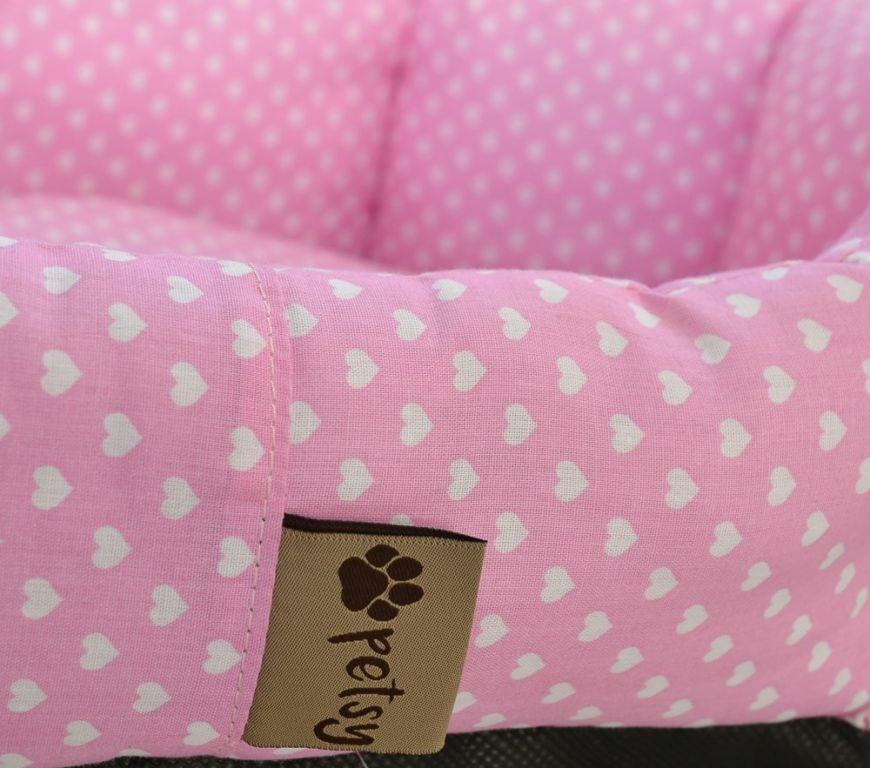 Pelíšek pro psa Pinky - 50 cm