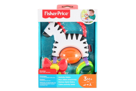 Fisher Price Zebra s aktivitami FGJ11