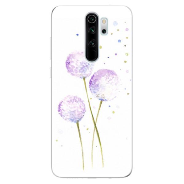 Odolné silikonové pouzdro iSaprio - Dandelion - Xiaomi Redmi Note 8 Pro