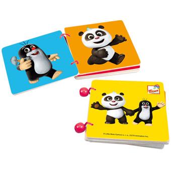 Krtek a Panda, dřevěná knížka