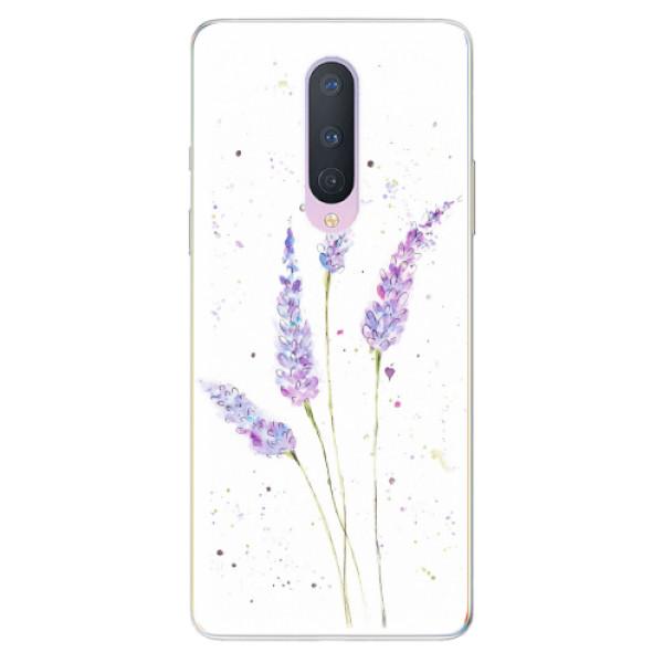 Odolné silikonové pouzdro iSaprio - Lavender - OnePlus 8