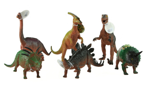 Dinosaurus 25-36cm 12/bal
