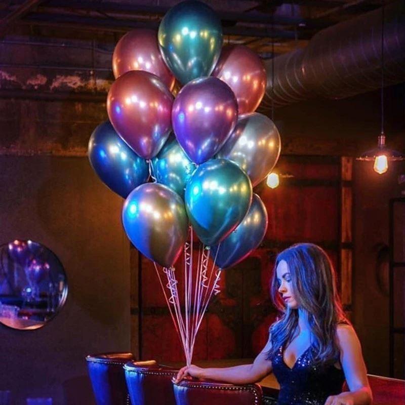 Metalické balónky 50 ks